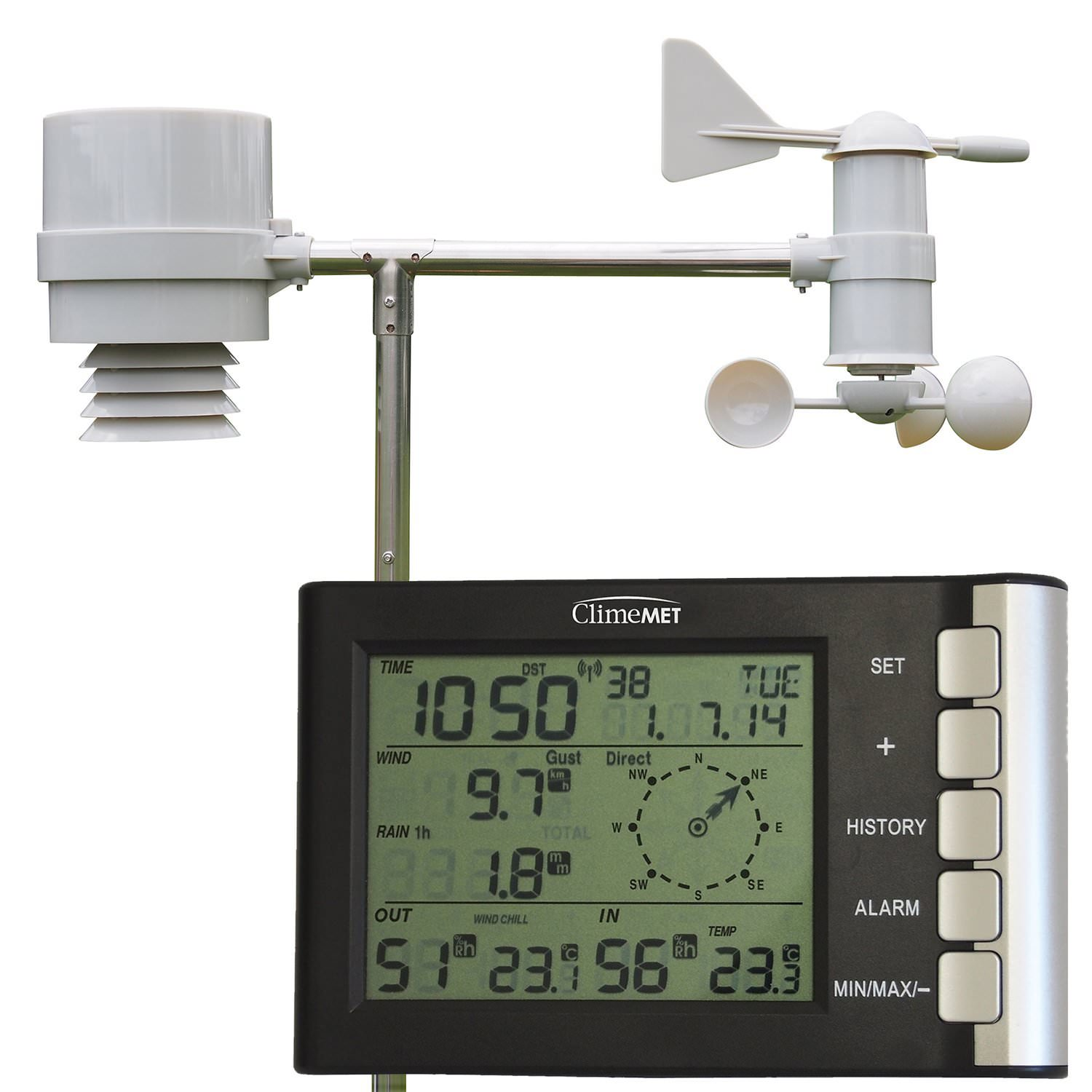 Climemet Cm2026 Home All In One Weather Station Weather